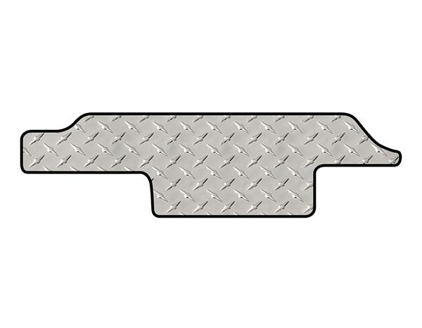 intro-tech diamond plate mat sliding door