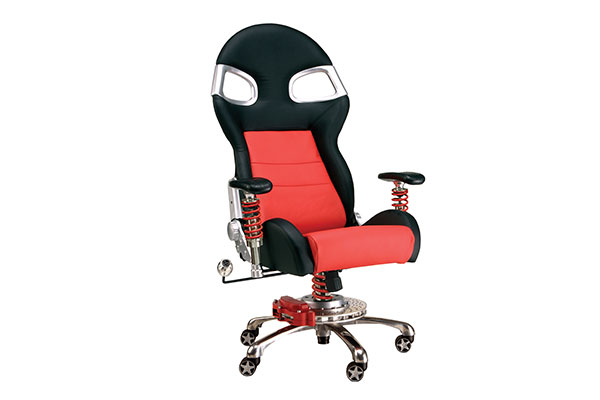 Image of Intro-Tech Automotive PitStop XLE Office Chair FO8000R Formula One Series Chair