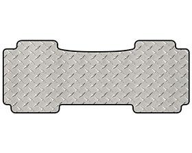 intro-tech diamond plate mat 1pc 3rd row