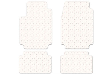 intro-tech protect-a-mat floor mat 4pc set 2pc front 2pc second clear