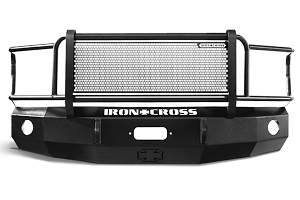 iron cross hd front bumpers with full guard sample