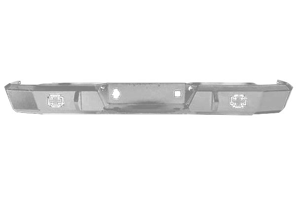 iron cross hd rear bumpers grey sample