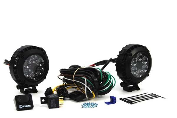 Image of KC HiLites LZR Round LED Lights 300