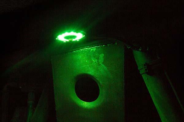 kc hilites cyclone led rock light kit sample green