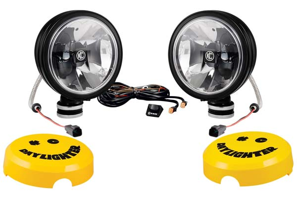 kc hilites daylighter off road lights system black pair sample