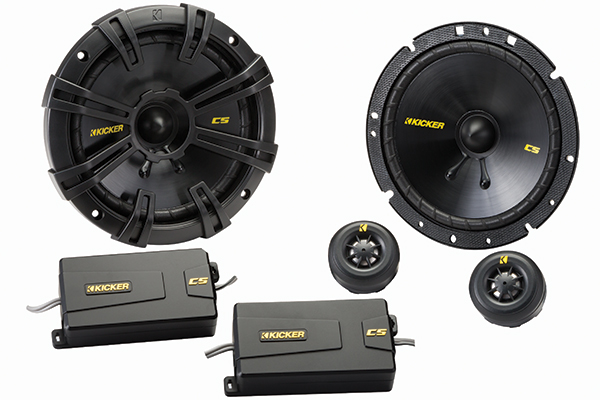 Image of Kicker CS-Series Component Speaker Systems 40CSS654