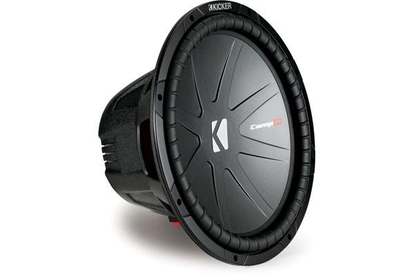 audio Kicker CompR Subwoofers 40CWR152