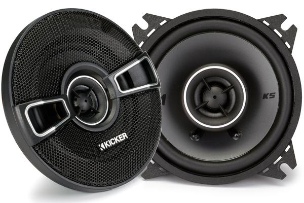 Kicker KS-Series Coaxial Speakers 41KSC44