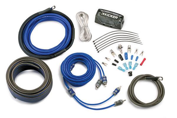 Kicker C-Series Complete Amplifier Installation Kits CK4