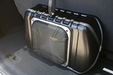 kicker vss powerstage subwoofer jeep 2door installed sample
