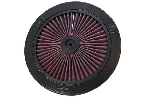 K&N XStream Round Custom Air Filter Assemblies 66-1101 XStream Air-Flow Top Only 4585-3440127