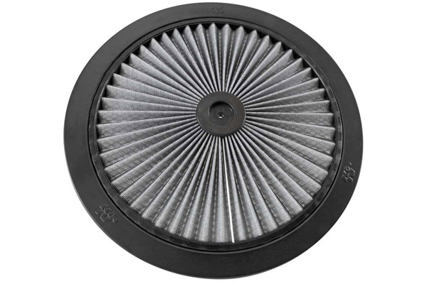 K&N XStream Round Custom Air Filter Assemblies 66-1400R XStream Air-Flow Top Only 4585-4177862