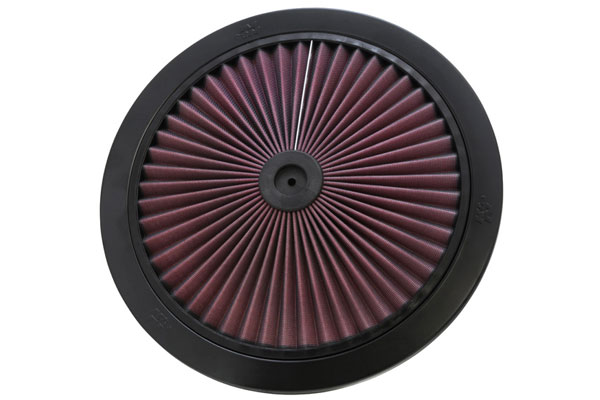 K&N XStream Round Custom Air Filter Assemblies 66-1401 XStream Air-Flow Top Only 4585-3440128