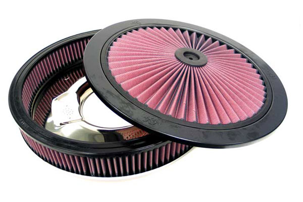 "K&N XStream Round Custom Air Filter Assemblies 66-3000 14"""" Custom Assemblies"" 4585-3440121"