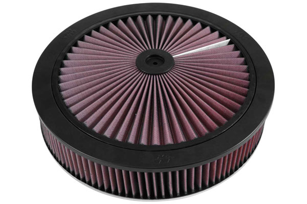 "K&N XStream Round Custom Air Filter Assemblies 66-3010 14"""" Custom Assemblies"" 4585-3440122"