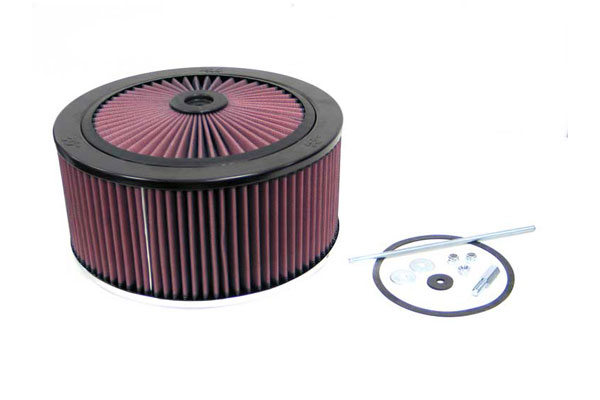 "K&N XStream Round Custom Air Filter Assemblies 66-3130 11"""" Custom Assemblies"" 4585-3440115"