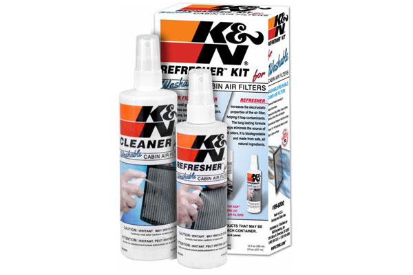 K&N Cabin Air Filter Refresher Kit 99-6000 9321-4024873