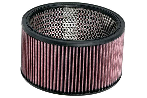 "K&N Universal Round Air Filters E-3650 9"""" Round Universal Filter"" 4584-3440170"