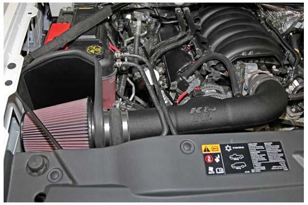 K/&N 63 Series Aircharger High Performance Air Intakes 63-3082