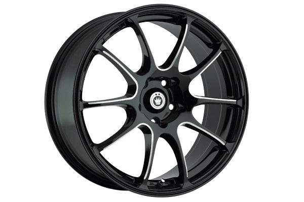 konig illusion wheels black ball cut machined spokes sample