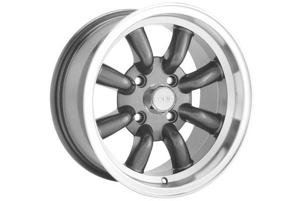 konig rewind wheels graphite sample