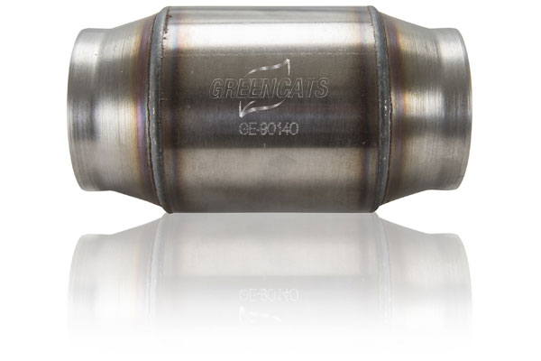 Image of Kooks Universal Ultra High Performance Green Catalytic Converters - 49 State Leg