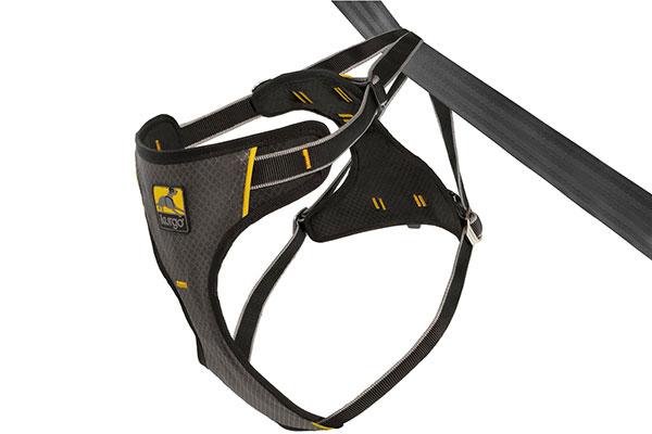 kurgo tru fit smart dog impact harness charcoal