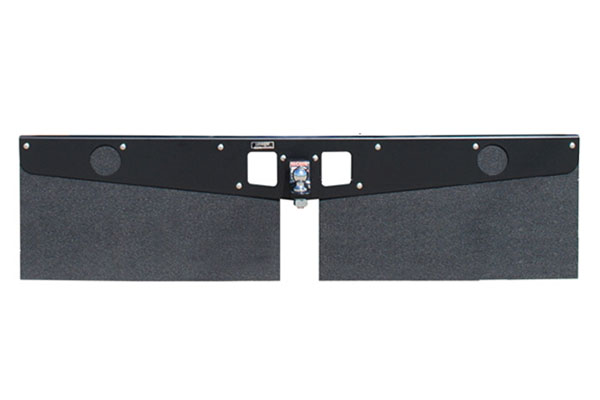 luverne hitch mounted mud flaps sample