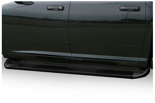 luverne side entry step running boards black sample