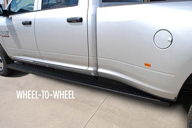 luverne grip step running boards wheel to wheel