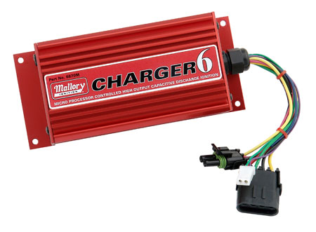 Image of Mallory HyFire 6-Series Ignition Control Boxes 6870M HyFire CHARGER 6 Digital Ignition
