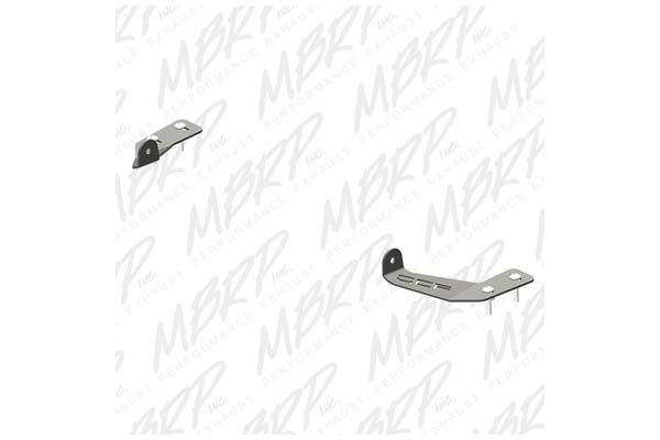 mbrp 182736 - mbrp windshield light mounts