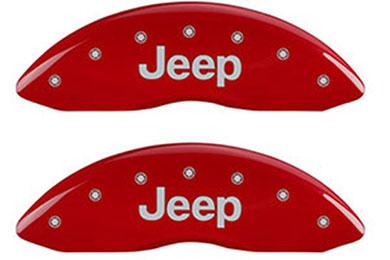 Jeep Liberty MGP Brake Caliper Covers