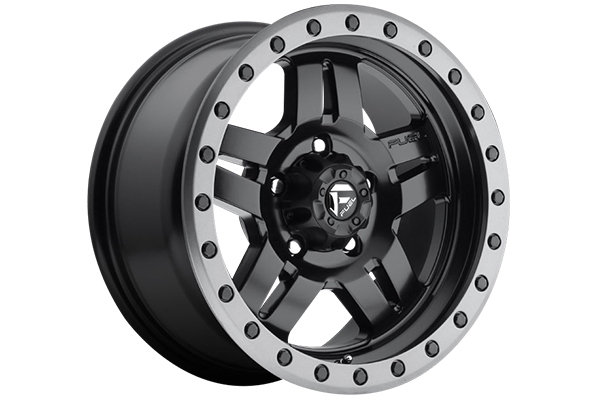 fuel anza wheels matte black 5 lug sample