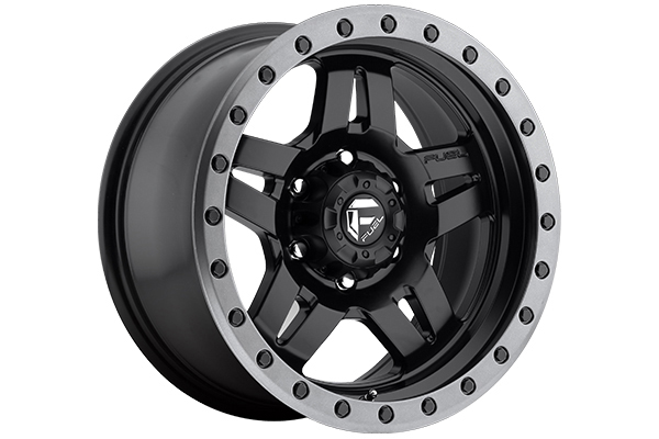 fuel anza wheels matte black 6 lug sample