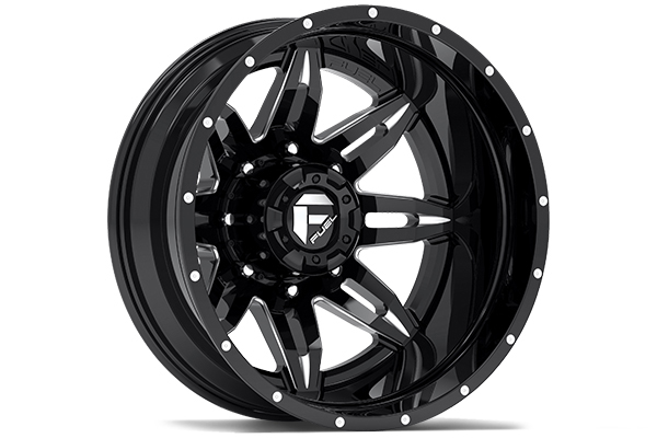 fuel lethal dually wheels rear black sample