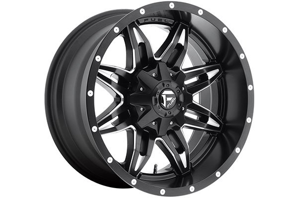 fuel vg lethal wheels black with milled accents sample