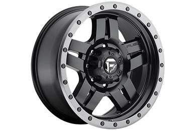 fuel anza wheels matte black 8 lug sample