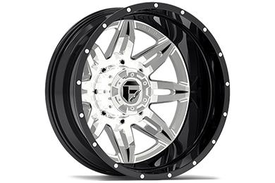 fuel lethal dually wheels rear chrome sample