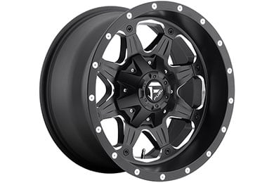 fuel vg boost wheels black with milled windows sample