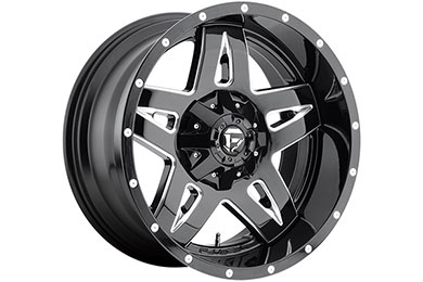 fuel vg full blown wheels black with milled accents sample