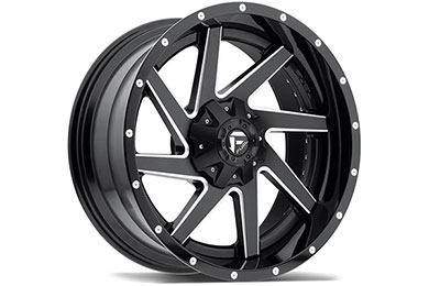 fuel vg renegade wheels black with milled spokes sample