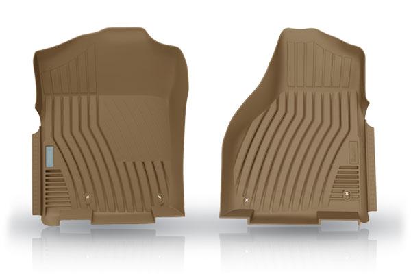 michelin edgeliner floor liners tan front