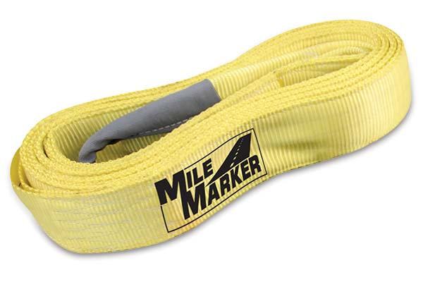 mile marker recovery strap sample