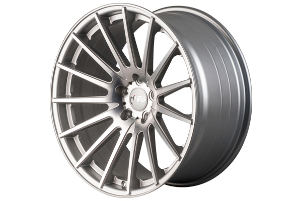 miro 110 wheels silver with machine polished face sample