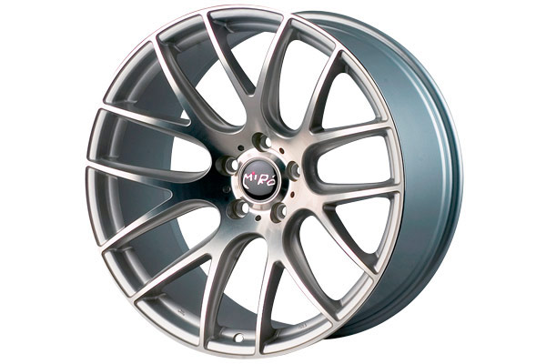 miro 111 wheels machined face silver sample