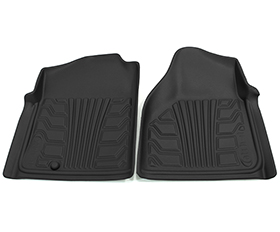 nifty catch-it floor protectors 2pc front black