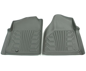 nifty catch-it floor protectors 2pc front grey