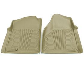nifty catch-it floor protectors 2pc front tan