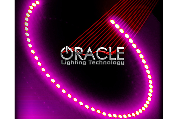 oracle fog light halo kits smd led pink sample